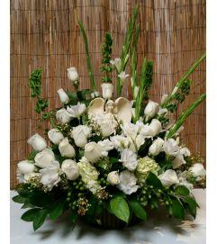 Beautiful White Garden of Angel