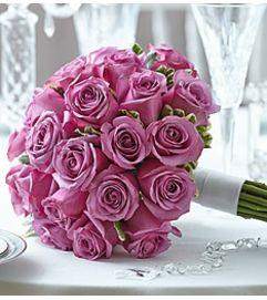 Elegance Purple Rose Bouquet