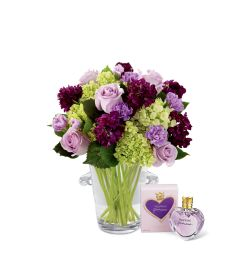 The FTD® Eloquent™ Bouquet with Perfume