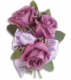 Soft Lavender Corsage