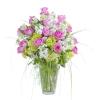 Peaceful Pink Elegance Vase