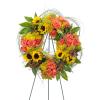 Heaven's Sunset Wreath