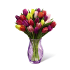 The FTD® Spring Tulip Bouquet by Better Homes and Gardens® -VASE