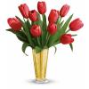 Tempt Me Tulips Bouquet by Teleflora