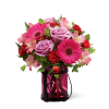 The FTD® Pink Exuberance™ Bouquet