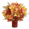 Teleflora's Harvest Crock Bouquet