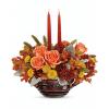 Teleflora's Celebrate Fall Centerpiece