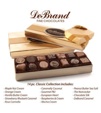 DeBrand 14pc. Classic Collection Chocolates