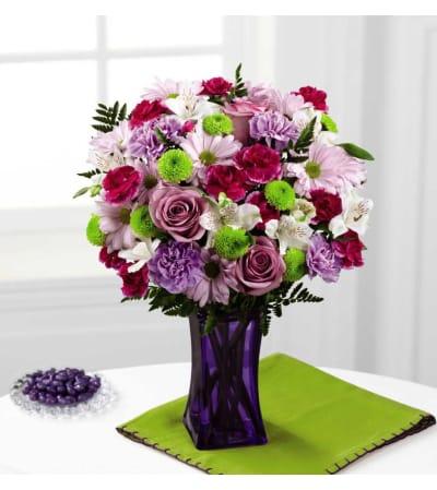 The FTD® Purple Pop Bouquet
