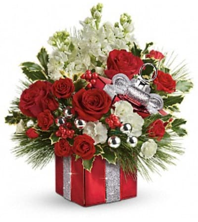 Wrapped In Joy Bouquet