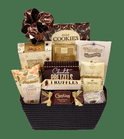 Bank of Chocolate Gift Basket