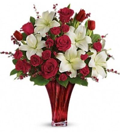 Love Passion Bouquet by Teleflora-