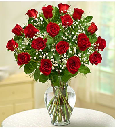 Eighteen Red Roses