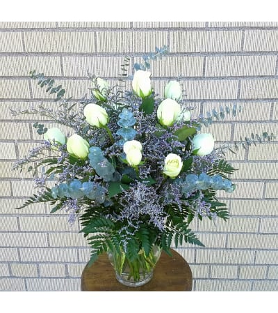 Pure Elegance Rose Vase