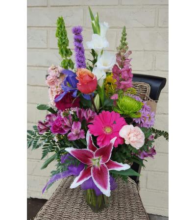Medium Mixed Vase, House Special