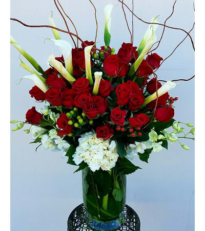 Breathtaking Red Roses