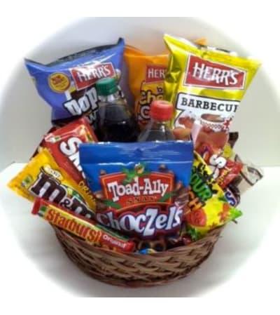 Junk Food Basket