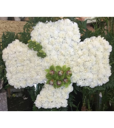Shamrock Funeral Design (Call for availability)