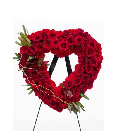 Regal Rose Heart