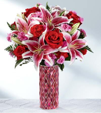 Lasting Romance® Bouquet -VASE INCLUDED