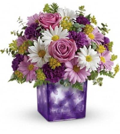 Dancing Violets Bouquet