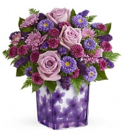 I'm Happy in Violets