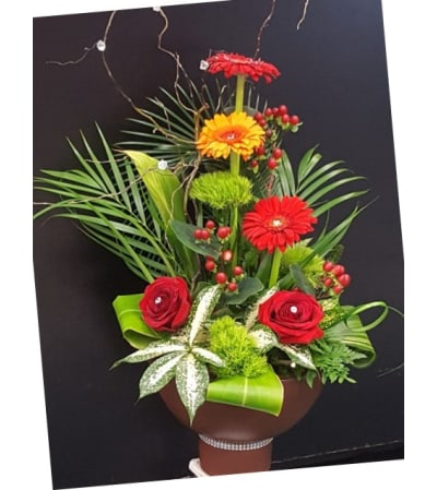 Ceramic pedestal Arrangement