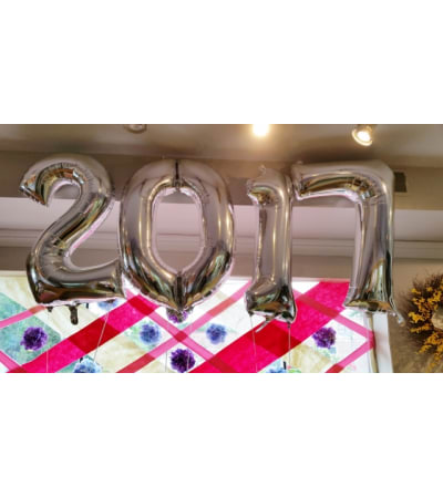 2017 Mylar Balloons