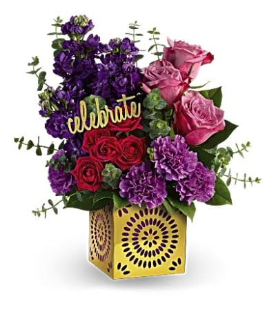 Thrilled for You Bouquet by Teleflora