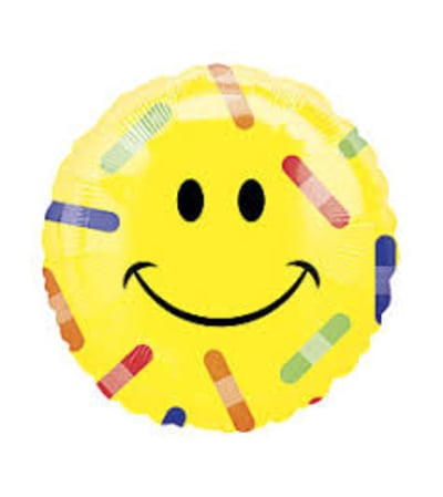 Happy Face/bandaid Balloon