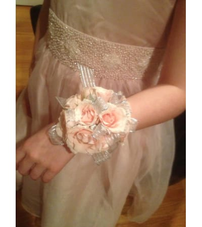WRIST CORSAGE OF ANY COLOR