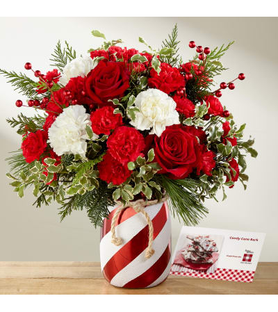 The FTD® Holiday Wishes™ 2017 Bouquet by Better Homes and Gardens
