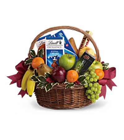 Fruit and sweets Basket