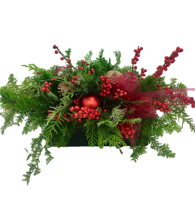 Christmas Centrepiece Red Blast