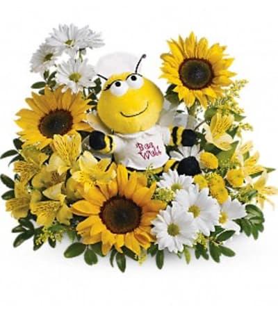 Teleflora's Bee Well Bouquet