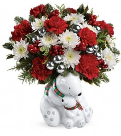 Send a Hug Cuddle Bears Bouquet