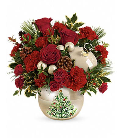 Christmas Pearl Ornament
