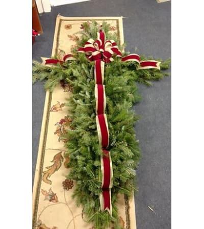 Cross-shaped Grave Blanket