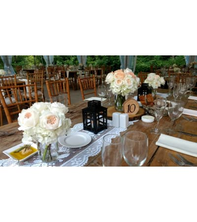 LOW ASSORTED CENTERPIECES