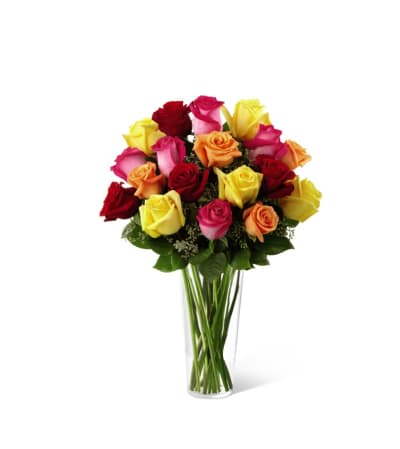 The Bright Spark™ Rose Bouquet by FTD®