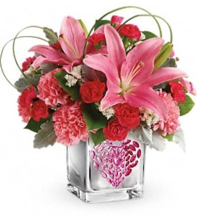 Jeweled Heart Bouquet