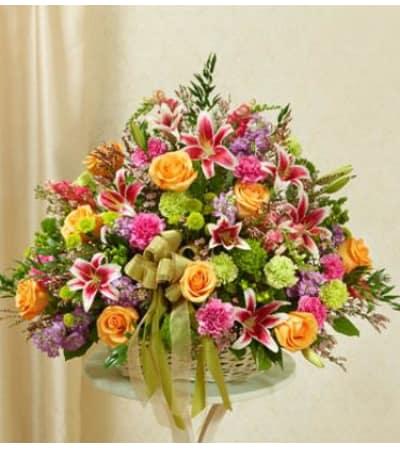 Multicolor Sympathy Basket