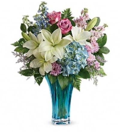 Heart's Pirouette Bouquet