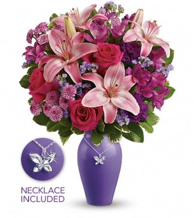 Teleflora's Beautiful Butterfly Bouquet