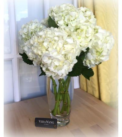 Vera Wang Hydrangea Bouquet-White