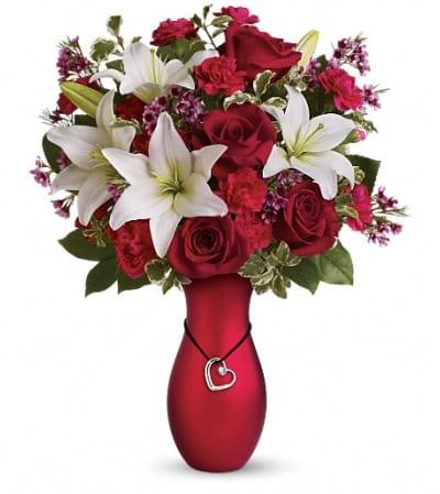 Heartstrings Bouquet by Teleflora