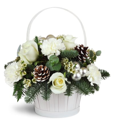 Silver Kisses™ Basket