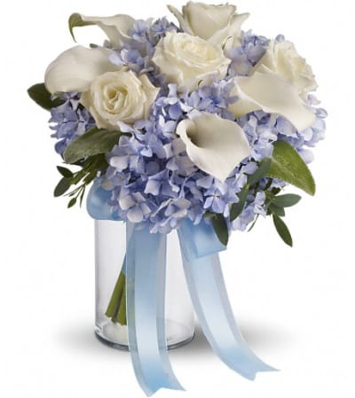 Love in Blue Bouquet