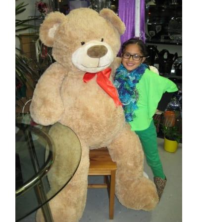 Huggable Jumbo Brown Teddy Bear