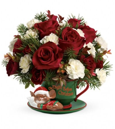 Teleflora's Send a Hug Waiting For Santa